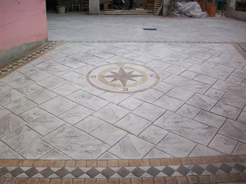 Hormigon impreso crevillent pavimentos impreso - Suelos exteriores de jardin ...